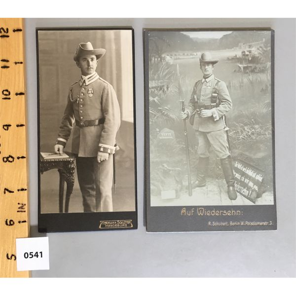 LOT OF 2 - 6 INCH CABINET CARDS