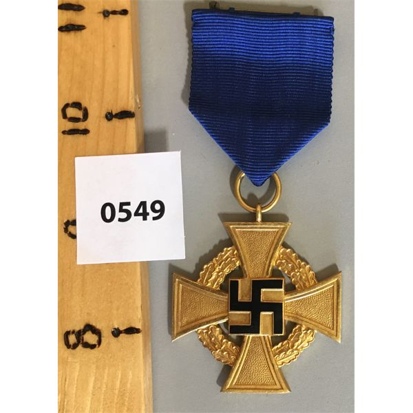 CIVIL LONG SERVICE AWARD FOR THIRD REICH - 40 YEARS