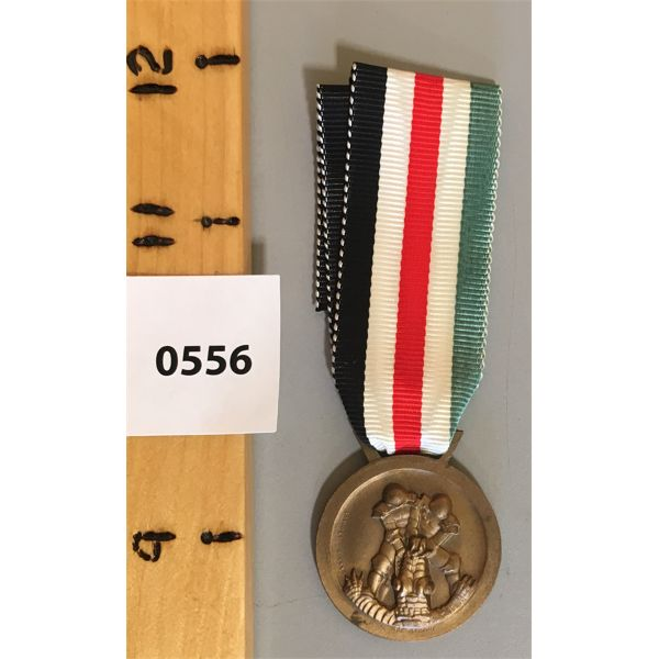 NAZI GERMANY CAMPAIGN MEDAL - THIRD REICH - 1941 AFRICA