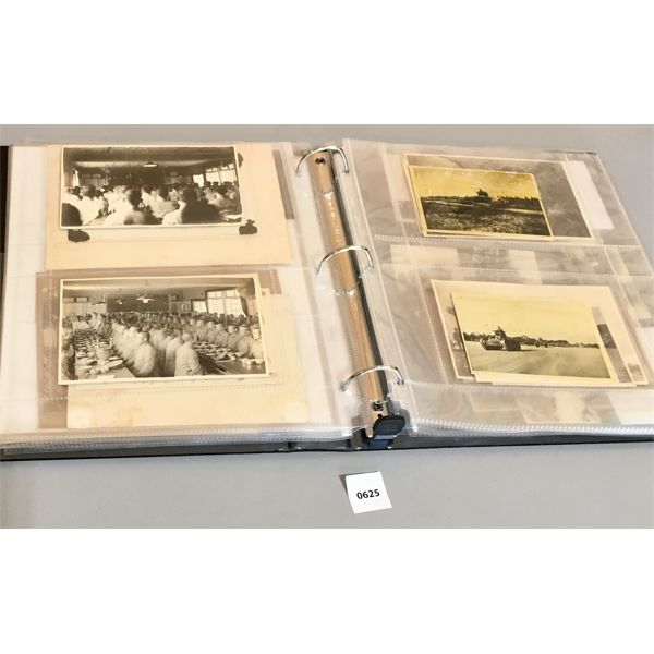 BINDER OF PHOTOS OF MILITARY INTEREST- JAPANESE