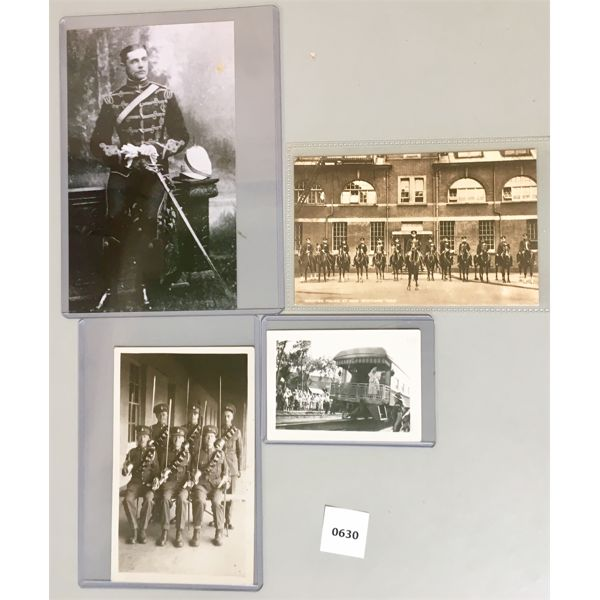 2X 7TH HUSSARS, SCOTLAND YARD, KING GEORGE & QUEEN ELIZABETH