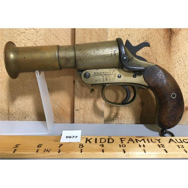 WEBLEY SCOTT 1.5 INCH FLARE GUN