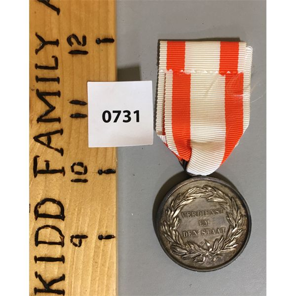 1797-1840 SILVER DECORATION MEDAL - F. WILHELM III - PRUSSIA