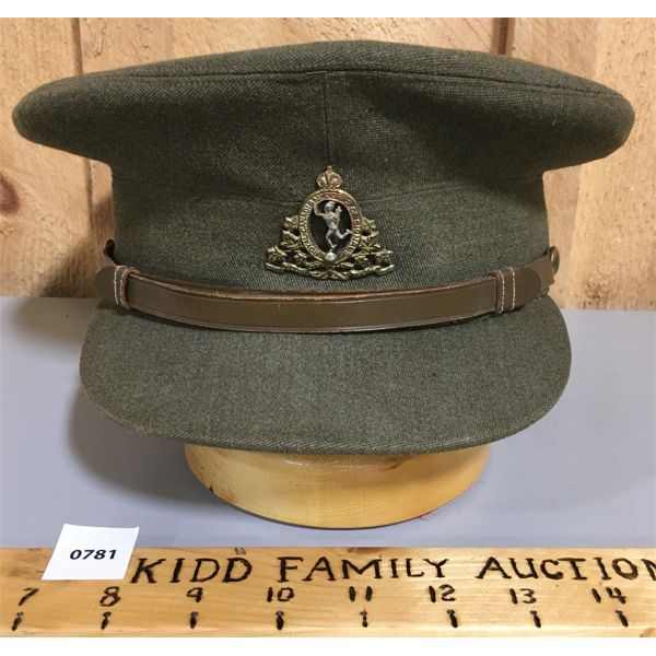 CANADIAN SIGNALS OFFICERS'S HAT - WWII