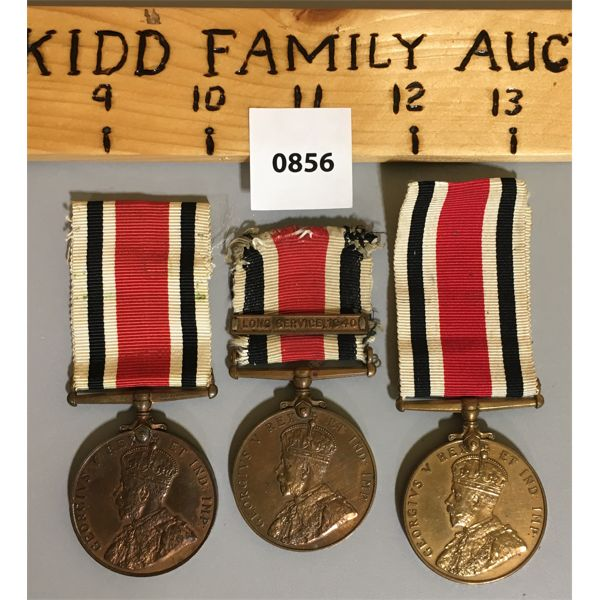 LOT OF 3 - FAITHFUL SERVICE IN SPECIAL CONSTABULARY MEDALS