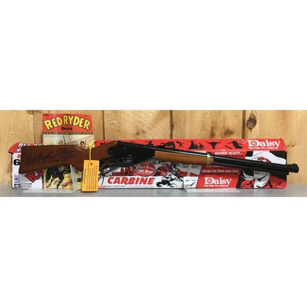 DAISY - RED RIDER CARBINE IN .177 BB W/ ORIG BOX & COMIC
