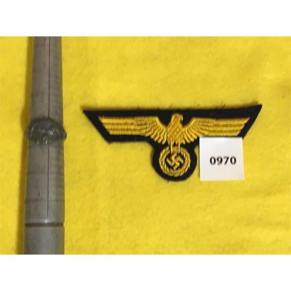 GERMAN SZ 10.5 RING & CREST