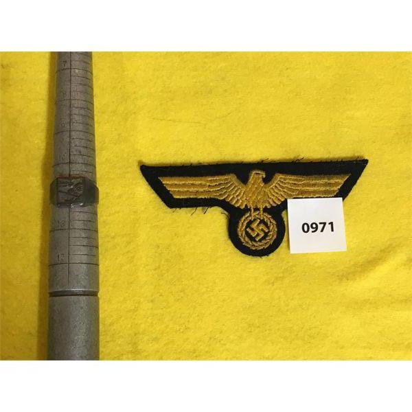NAZI GERMAN SZ 11 RING & CREST