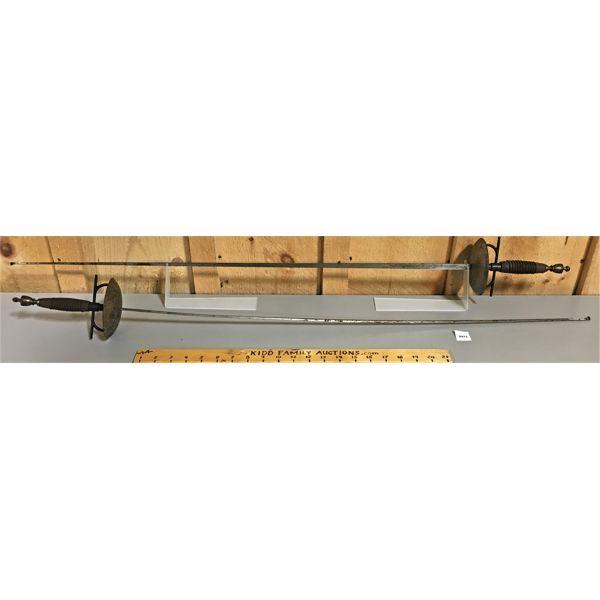 34 INCH BLUNTED BLADES - DECO SWORDS