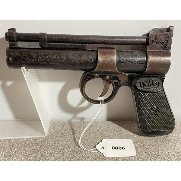 WEBLEY JUNIOR .177 CAL PELLET GUN - NO PAL REQUIRED