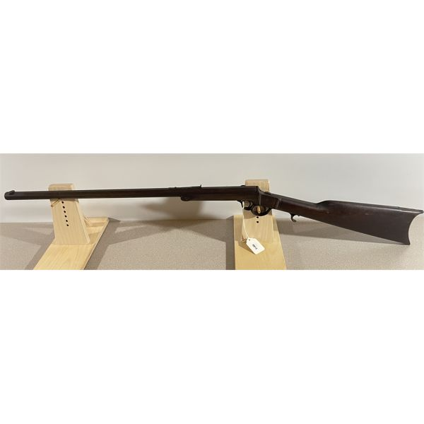 FRANK WESSON SINGLE SHOT RIFLE IN .38 RF (?)