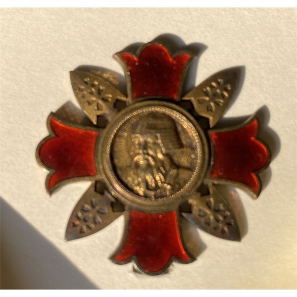 IMPERIAL JAPAN - WWII WOUND BADGE