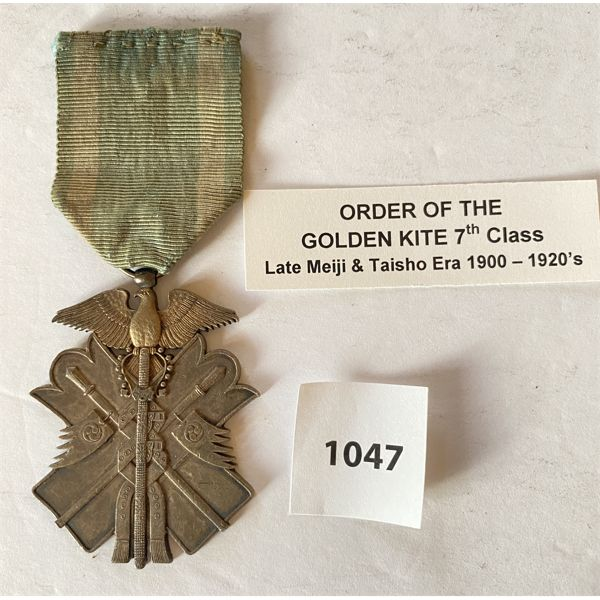 IMPERIAL JAPAN - ORDER OF GOLDEN KITE - 7TH CLASS MEDAL