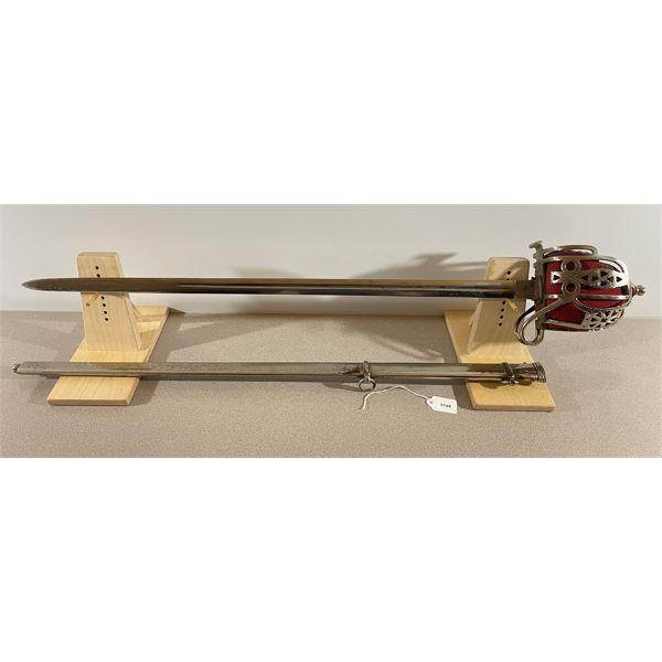PATTERN 1828 HIGHLAND OFFICER'S BROAD SWORD