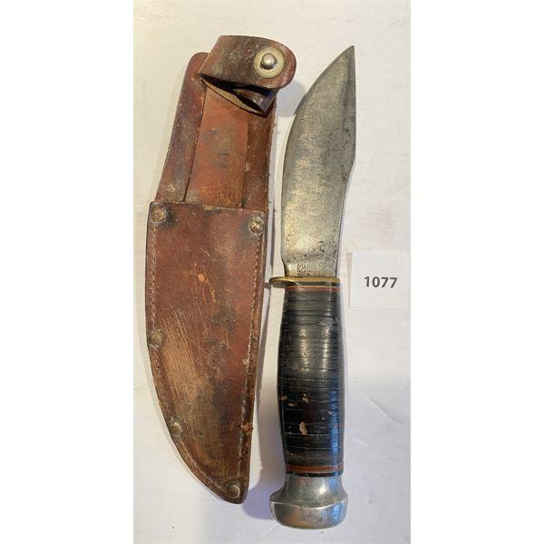 MARPLE'S PAT'D 1916 KNIFE - 5 INCH BLADE