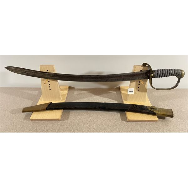 POLICE HANGER SWORD, STAFFORDSHIRE C. 1850