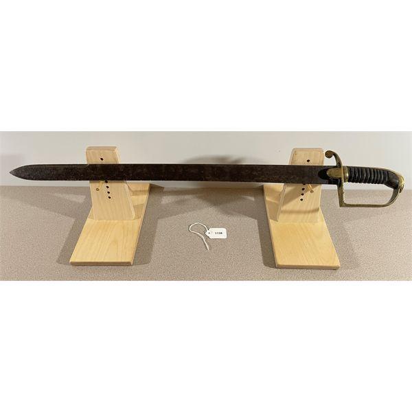 BRITISH FOOT ARTILLERY PRIVATE'S SWORD C. 1820