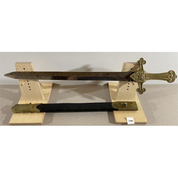 BRITISH P.1856 MK.1 DRUMMERS SWORD