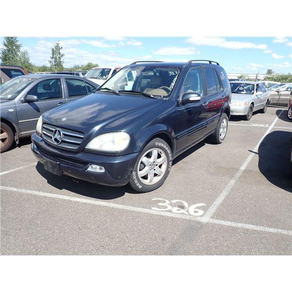 2002 Mercedes-Benz ML500