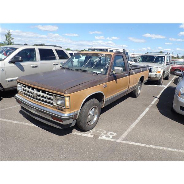 1985 Chevrolet S-10