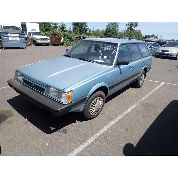 1991 Subaru Loyale