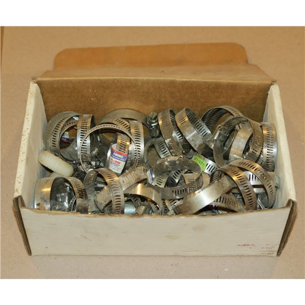 Box of Hose Clamps