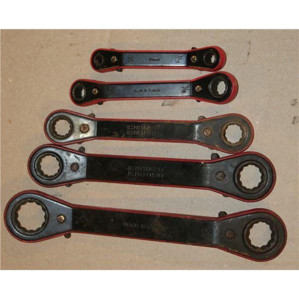 Ratcheting Wrenches, 1/4 -7/8