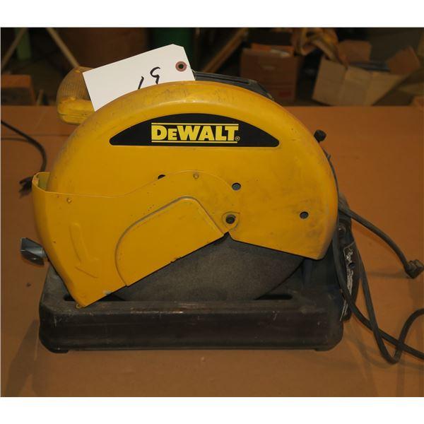 DeWalt Chop Saw 028710