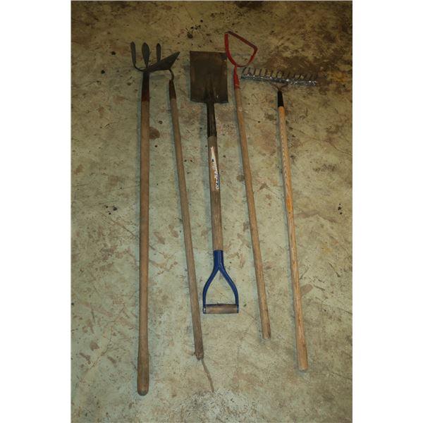 Lot Misc. Garden Tools