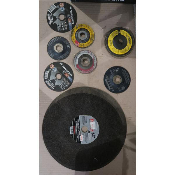 Chop Saw + Angle Grinder Wheels