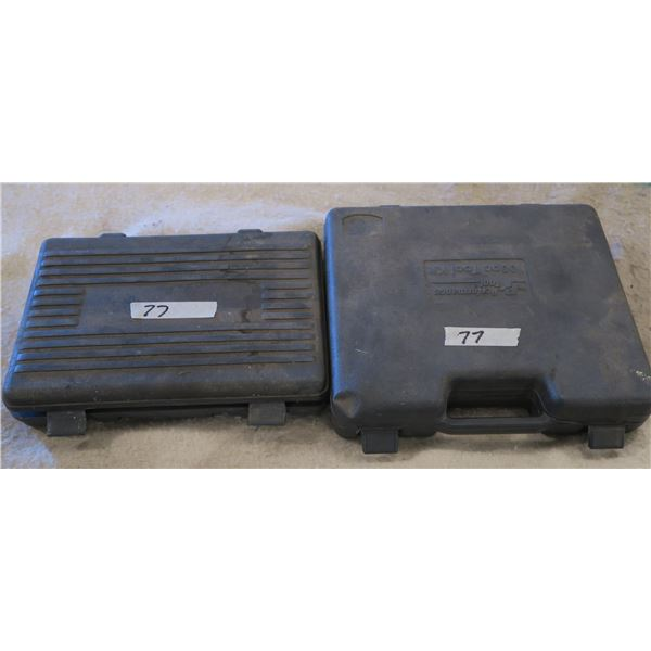 Two partial 3/8 & 1/4 Drive socket sets
