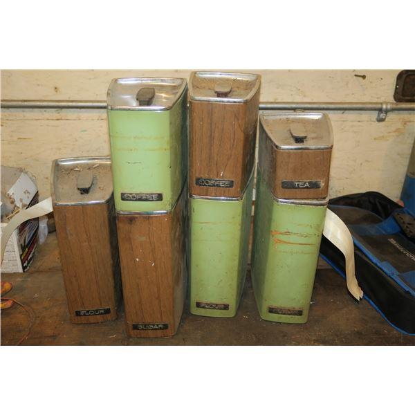 Vintage Storage Tins