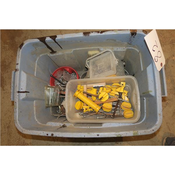 Lot of Fasteners/Misc. Hardware