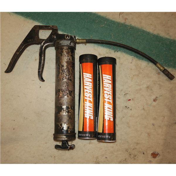 Grease gun + 2 Grease Tubes
