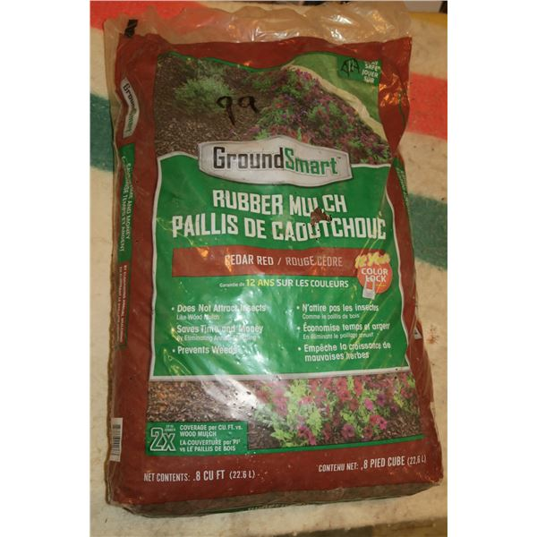 Bag Of Rubber Mulch