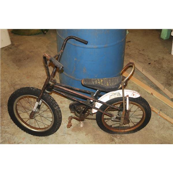 "Vintage Kids banana Bike ~20"" height"