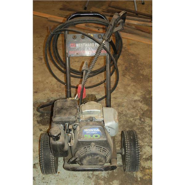 5hp Honda Westward Gas Powered Pressure Washer