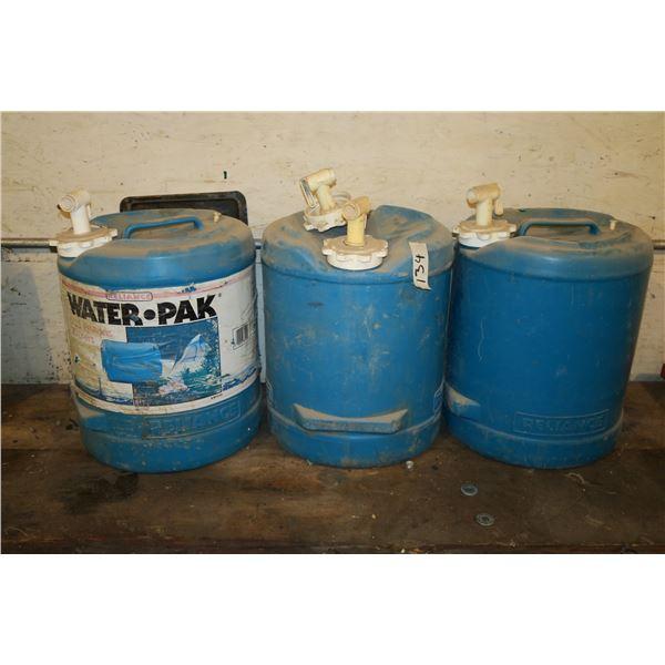 3 5 Gal. Water Jugs
