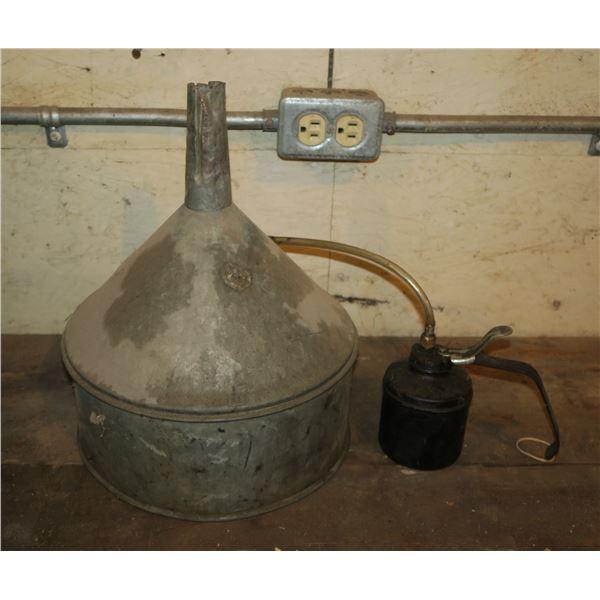 Vintage Funnel/ Oiler
