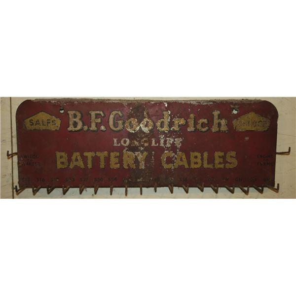BF Goodrich Metal Wall Rack