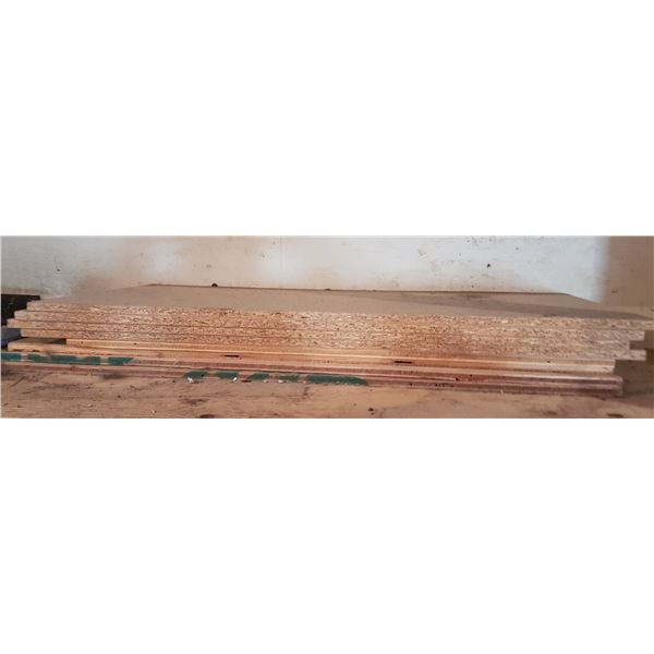 """Lot 8 approx. 36""""×16"""" Chip Board"""