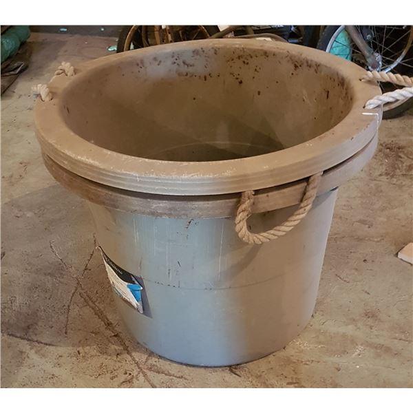 "Lot of 2 utility Buckets 22"" Diameter"