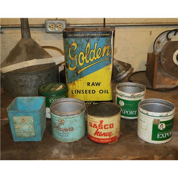 Vintage Tobacco Tins/Other