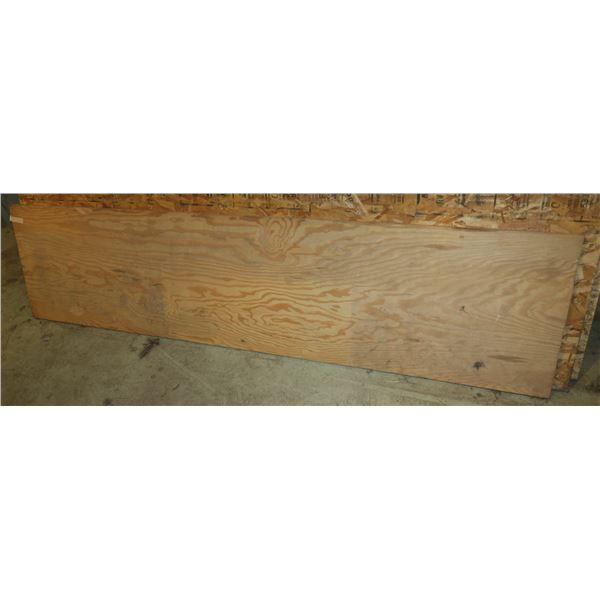 "22""×96"" 5/8 Plywood"