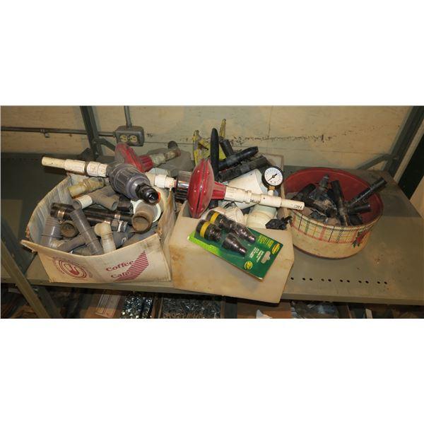 Lot of misc. irrigation equipment/Sprinkler supplies