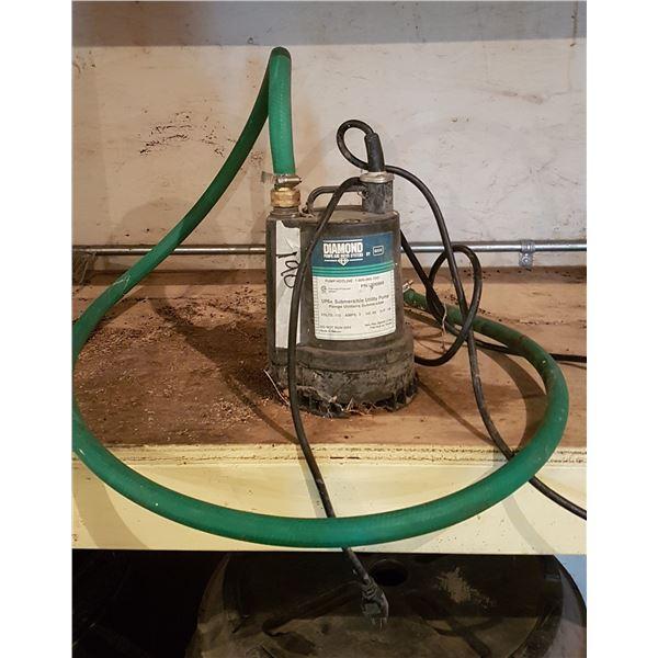1/6 HP Submersible pump