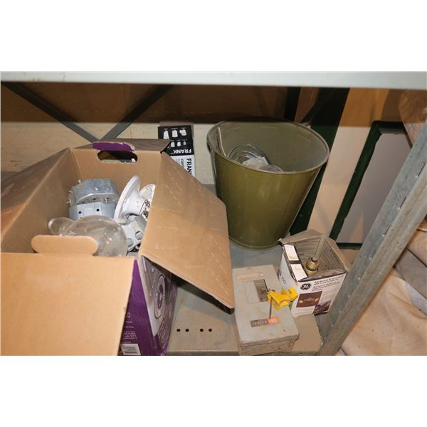 Lot of Misc. Electrical supplies