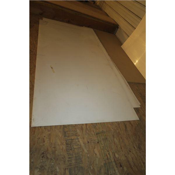 """Three 4×8 Puck Board sheets 1/8"""""""