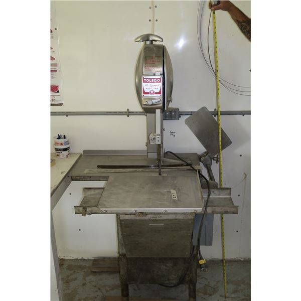 Toledo Meat Bandsaw + Extra Blades