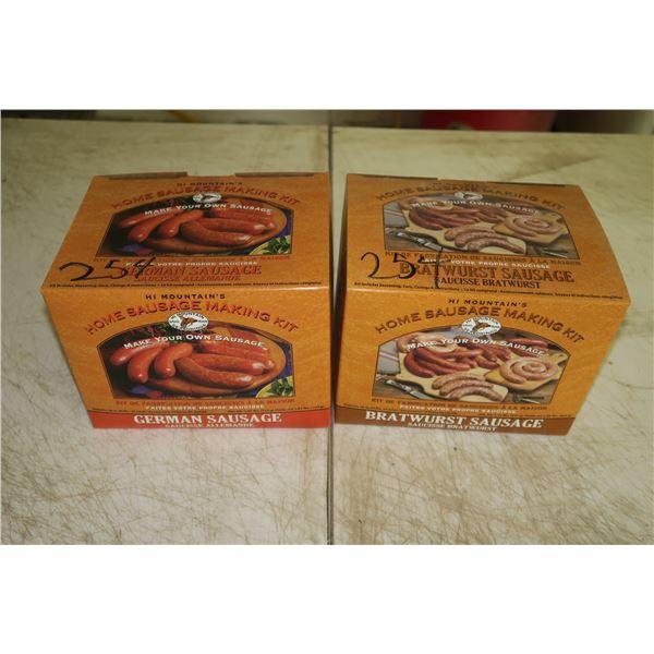 2 Unopened Sausage Making Kits